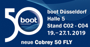 Boot Düsseldorf 2019 Cobrey Yachts 50 FLY