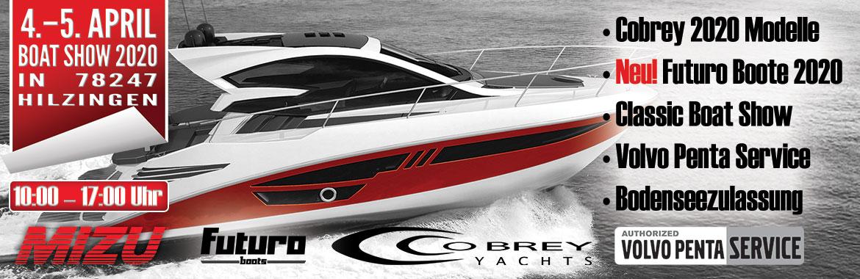 MIZU Boatshow 2020 Hilzingen