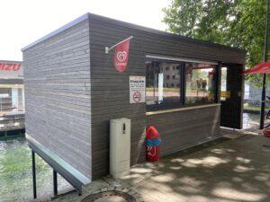 MIZU Kiosk am See Konstanz