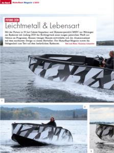 Futuro ZX 20 Testride Report Motorboot Magazin