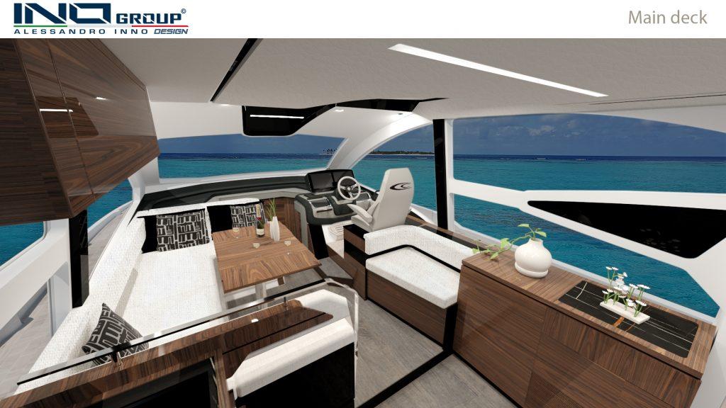 Cobrey Yachts 42 FLY Main Deck (2)
